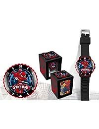 Reloj analogico Spiderman Marvel 4 en 1