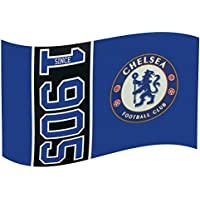 Chelsea FC Football Club Since 1905 Flag Style Blue Supporter Fan Match Banner