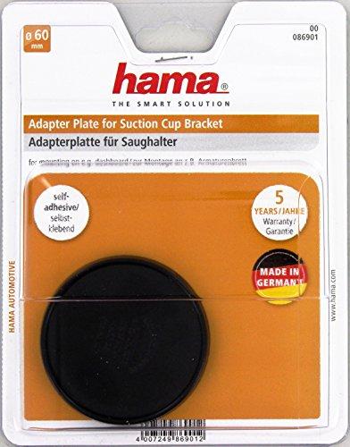 Hama Adapterplatte für Saughalter, 60 mm, selbstklebend