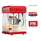 Rosenstein & Söhne Popcornmaschine: Profi-Retro-Popcorn-Maschine