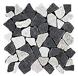 M-006 Bruchstein Marmor Mosaikfliesen Naturstein Fliesen Lager Verkauf Stein-Mosaik Herne NRW Bodenfliesen