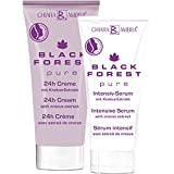 Chiara Ambra Black Forest pure Gesichtspflegeset 24h Creme 30 ml, Intensiv-Serum 20 ml 1er Pack (1 x 50 ml)