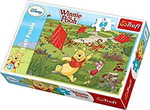 TREFL - Puzzle Winnie The Pooh de 60 Piezas (21.3x14.3 cm) (17204)