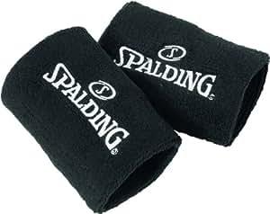 Spalding Sweatband Poignet éponge (x2) homme Noir