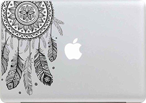 Macbook Aufkleber, Stillshine Super Dünn Removable New Fashion Cool Macbook Sticker Aufkleber Skin Laptop Vinyl Decal Abziehbild Abziehbilder (Traumfänger)