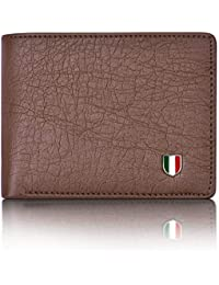 Giovanny GVN-BRWLHAR01 Brown Wallet for Men - Compact Size