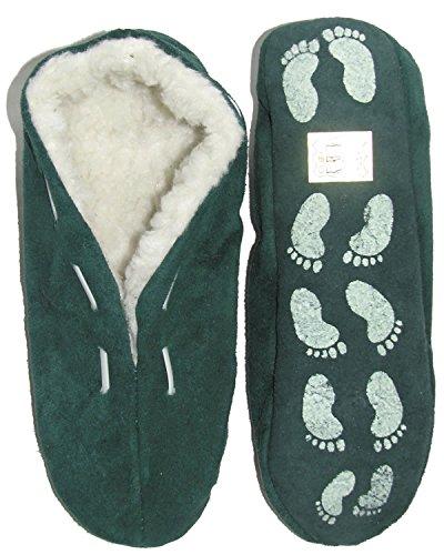 Hut Verde Sola Carneiro De Cor Em Sapatos Cores Chinelos Camurça De Sapatos Em Mocassins Antiderrapante Com Pele 6 Torno vYqdH6dw