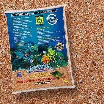 Bio–Active Live Aragonit Australian Gold Reef SAND 9,1kg (2pc) (Katalog Kategorie: Aquarium/marine Substrate...