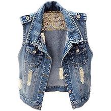 size 40 e0c9b 4edcf Suchergebnis auf Amazon.de für: jeansweste damen ärmellos