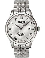 Tissot Herren-Armbanduhr XL Le Locle Automatic Analog Automatik Edelstahl T41.1.483.33