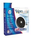 wpro FAC519 - Dunstabzugshaubenzubehör/ Aktivkohlefilter Typ E233 für Umluftbetrieb/ Passend für viele Modelle (u.a. Bauknecht, Electrolux, Whirlpool)