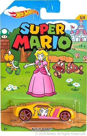 Preisvergleich Produktbild Hot Wheels DJK66 - Super Mario - 1:64 (Prinzessin Peach - Bully Goat)