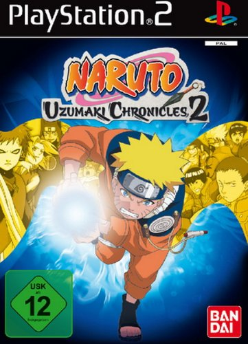 PS2 Naruto Uzumaki Chronicles 2 (Uzumaki Chronicles 2)