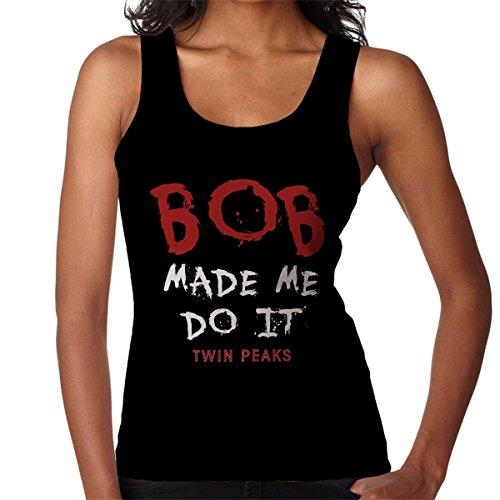 Twin Peaks Bob Made Me Do It Women's Vest Black