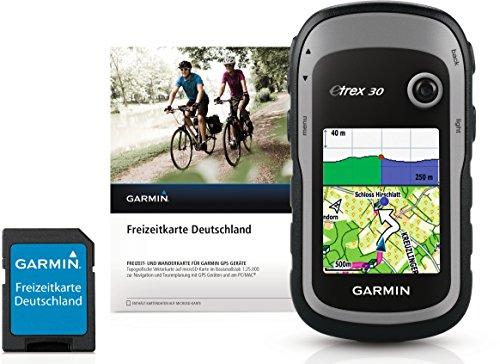 Handheld + Freizeitkarte Deutschland & 25 Stunden Batterielaufzeit, 3-Achsen-Kompass, Grau ()