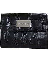 Cross Women's Genuine Leather Medium Purse with Credit Card Slot - Black