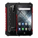 Ulefone ARMOR X3(2019), Rugged smartphone Cellulari e Smartphone, 5.5' cellulari ip68 Android 9.0, Dual SIM, 2 GB di RAM 32 GB ROM, 8MP + 5MP + 2MP, batteria 5000mAh, sblocco viso GPS Rosso