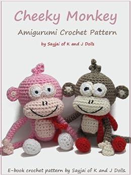 Cheeky Monkey Amigurumi Crochet Pattern by [Thawornsupacharoen, Sayjai]