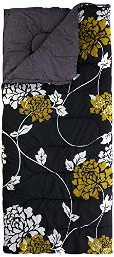 Preisvergleich Produktbild Royal Novara Kingsize Sleeping Bag 50oz High Quality - Floral Olive/Black