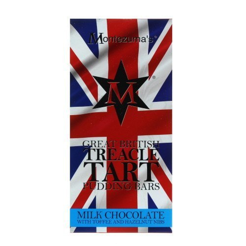 Montezuma Great British Treacle Tart Pudding Chocolate Bar 100g Buy Online In Dominica At Dominica Desertcart Com Productid 50274030