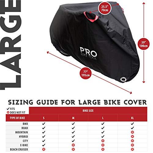 PRO Bike Tool – Abschließbare Fahrradabdeckung - 2