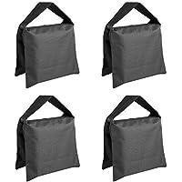 Neewer Studio de vídeo de alta resistencia diseño de bolsa de arena bolsa de arena para soportes de, soporte, trípode -, 4 juego de paquetes de