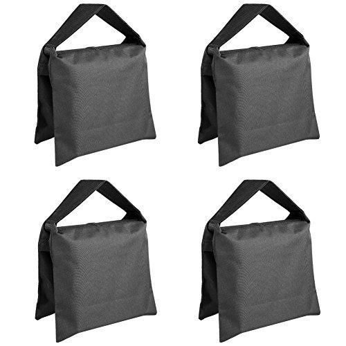 Neewer® Hochleistungs Foto Sandsack Studio Video Sand Tasche für Leuchtenstative, Galgenstativ, Stativ -4 Pack Set