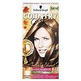 Schwarzkopf Country Colors - Haarfarbe Set - Cognac Warm Braun