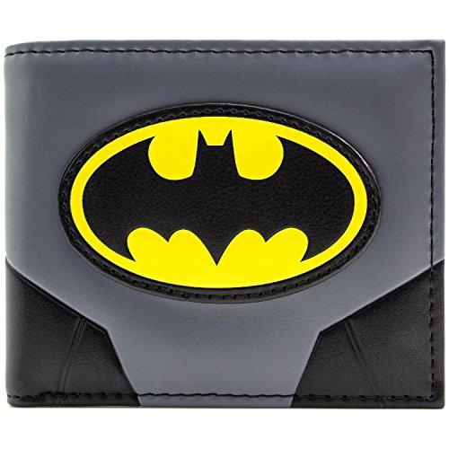 Batman Original Anzug und Logo Grau Portemonnaie (Original Catwoman Kostüm)