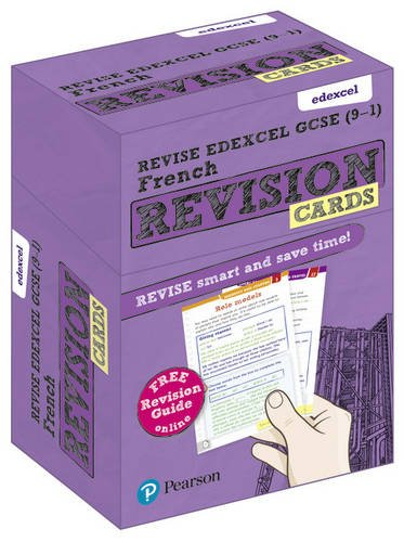 Revise Edexcel GCSE (9-1) French Revision Cards: with free online Revision Guide