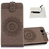 Sony Xperia Z3 Compact Hülle,TOCASO Wallet Case Sony