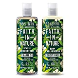 Faith in Nature Hemp Shampoo and Conditioner, 400 ml
