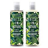 Fede nella natura canapa shampoo e balsamo, 400ml