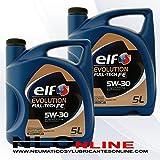 Elf Evolution Full-Tech FE 5W-30 Motoröl, 5l 10 ltrs = 2 x 5 L