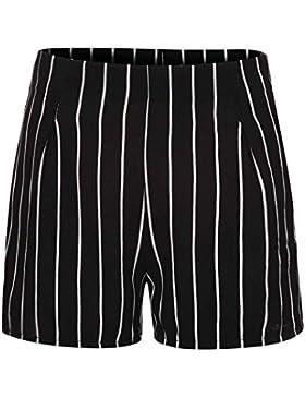 DOGZI Mujer Verano Raya Pantalon