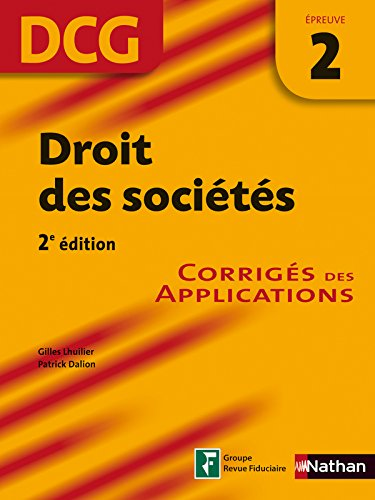DROIT SOCIETES EPR 2 DCG CORRI