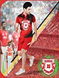 Kings Xi Punjab 3D Print - Ipl - Team T-Shirt (3D) (Size - L)For 16-21Years Old Boys