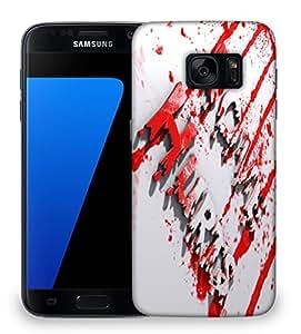Snoogg Love Hurts Designer Protective Back Case Cover For SAMSAMSUNG S7