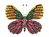 Alilang Frauen Elegant Bunt Strass Swarovski Element Schmetterling Brosche