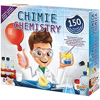 Buki - 8360 - Science et Nature - Chimie sans Danger - 150 Expériences