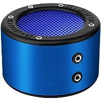 MINIRIG MINI Portable Rechargeable Bluetooth Speaker - 30 Hour Battery - Premium Stereo Sound - Blue