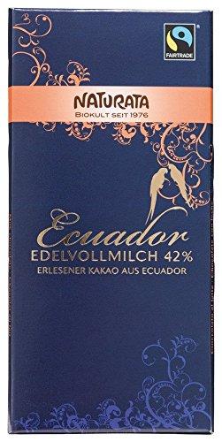 Naturata Bio Ecuador Edelvollmilch 42 % (10 x 100 gr)
