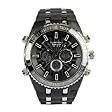 Globenfeld-Jetmaster-Mens-Sports-Watch-Rugged-Durable-Design-for-the-Modern-Man-with-Jet-Black-Metal-Case-Silicone-Rubber-Wrist-Band-and-5-Year-Manufacturers-Warranty