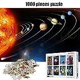 Alesxi Sistema Solar Puzzles 1000 Piezas Puzzle De Madera Juego De Rompecabezas Para Adultos 1000 Piezas Puzzle Juguetes Para Niños Regalos