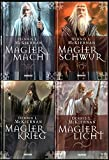 Der Krieg der Magier 4 Bände: Magiermacht, Magierkrieg, Magierschwur, Magierlicht - Dennis L. McKiernan