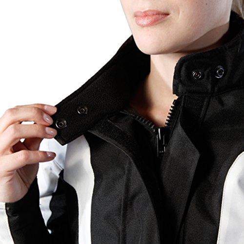 Lemoko Damen Textil Motorradjacke schwarz Gr XXL - 5