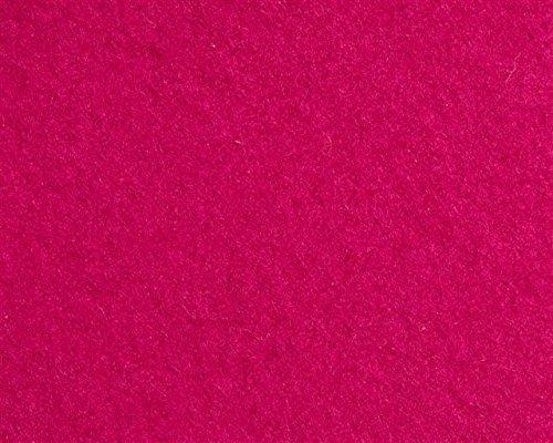 Bicolor Shopper Einkaufstasche aus Filz (100% Wolle) von i.Punkt Schwarz/Fuchsia