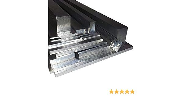 Aluminium Flachstange 100x5mm AlMgSi0,5 Länge wählbar Alu Flachmaterial Flach