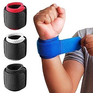 EVOLUXO 1 Paar Handgelenkbandagen mit verstellbarem Riemen zur Unterstützung und Stabilisierung beim Sport und Fitness