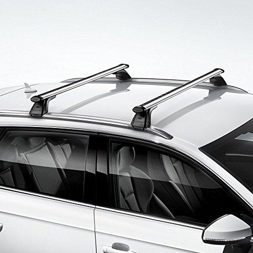 Audi 4G9071151A Dachträger Tragstäbe Dachgepäck Original Grundträger, Nur für Fahrzeuge mit Dachreling, Nur für Avant